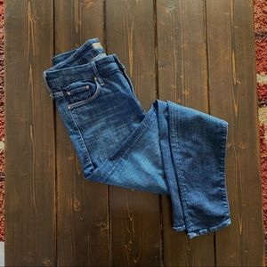 Mother The Looker Clean Sweep Wash Jeans